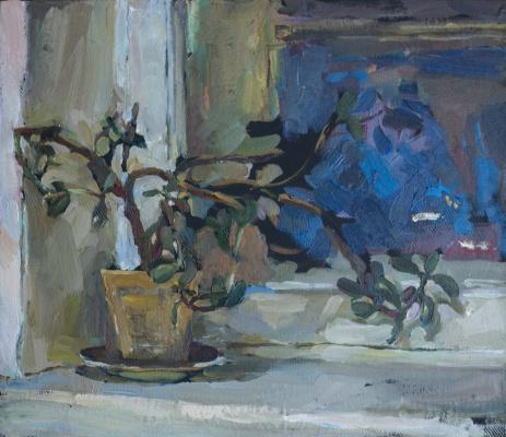 Tanika Yezhova. Window-sill