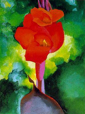 Джорджия О'Киф. Красная роза