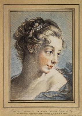Луис Марин Бонне. Женская голова
