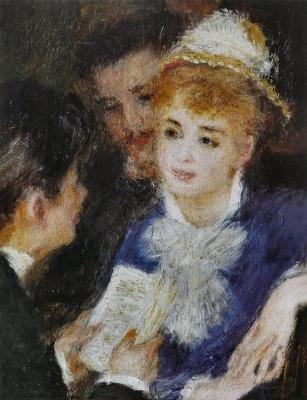 Pierre-Auguste Renoir. Reading