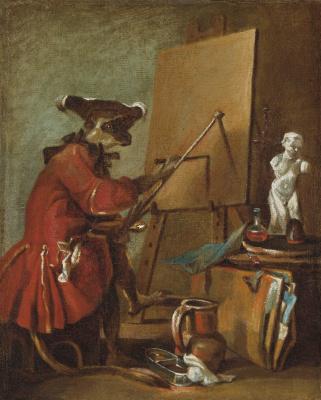 The monkey-artist