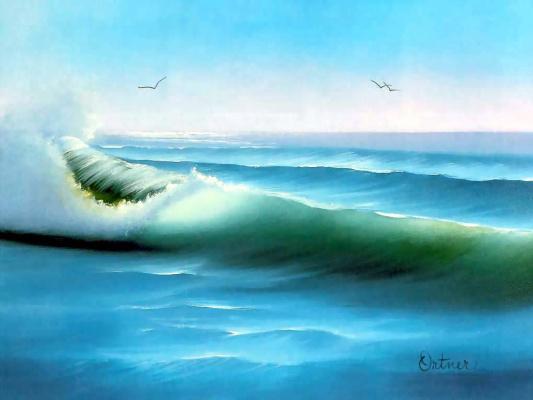 Боб Росс. Волна