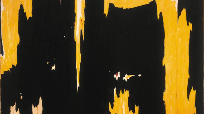 Clifford Still. 1957-D No. 1