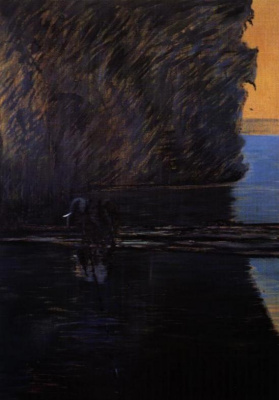 Фрэнсис Бэкон. Слон преодолевает брод реки