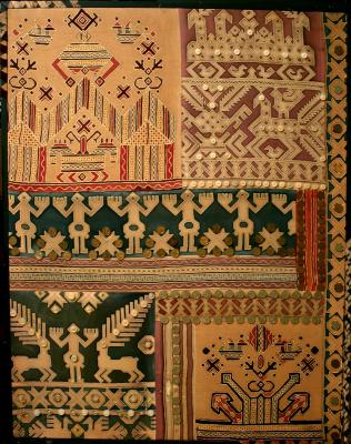 Violetta Valerievna Mitina. Russian embroidery
