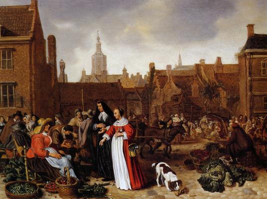 Ван Бест. Овощной рынок
