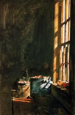 Andrew Wyeth. Cranberry
