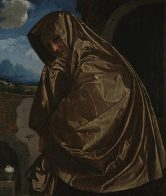Лодовико Карраччи. Святая Мария Магдалина у Гроба Господня