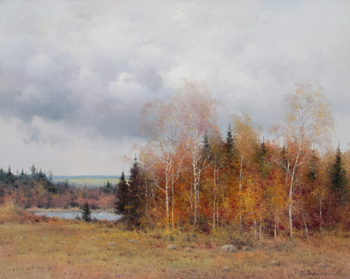 Vasily Ivanovich Gribennikov. Autumn time