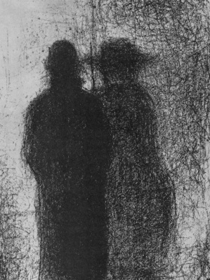 Georges Seurat. At dusk