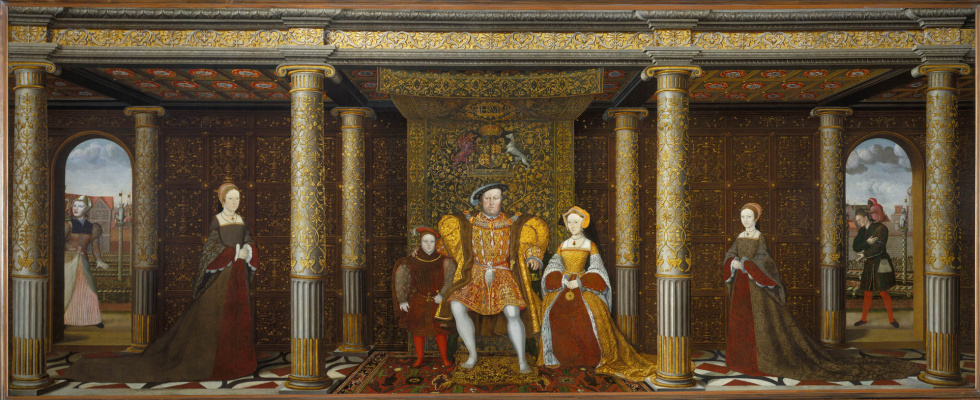 Unknown artist. Family portrait of Henry VIII
