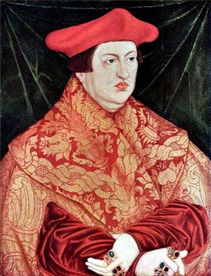Lucas Cranach the Elder. Cardinal Albrecht of Brandenburg
