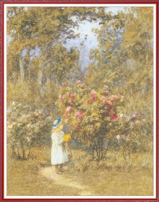 Хелен Аллингем. Выбор цветов