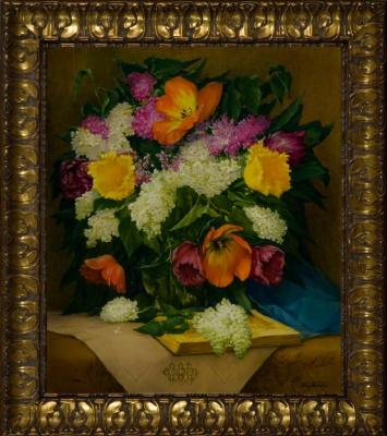 Василий Коркишко. Spring bouquet