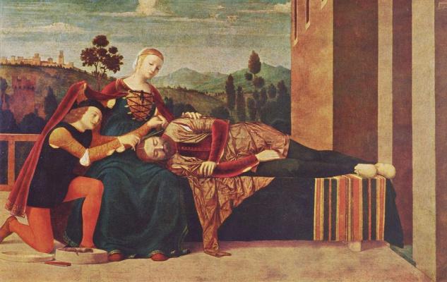 Франческо Мороне. Самсон и Далила