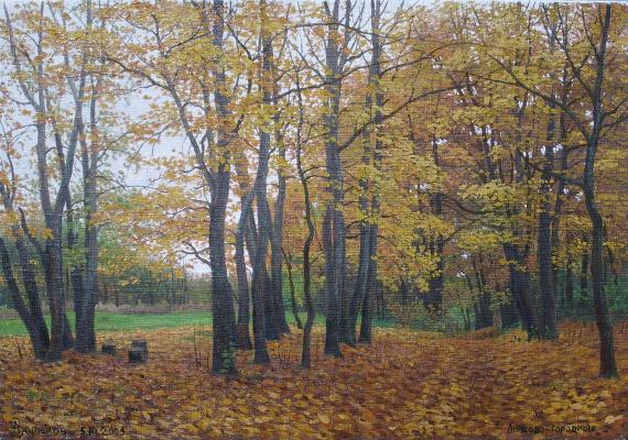 Alexander Vasilyevich Zoryukov. Autumn sadness in Anisovo-Gorodishche