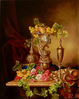 Александра Демидова. Копия натюрморта