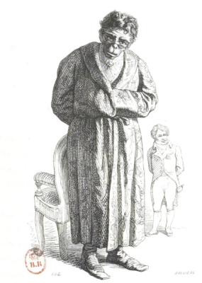"Jean Inias Isidore (Gerard) Granville. Philosopher. ""Scenes of public and private life of animals"""