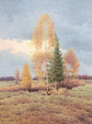 Vasily Ivanovich Gribennikov. Autumn day