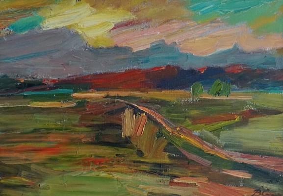 Valerij Ivanovich Sosna. On The Sunset