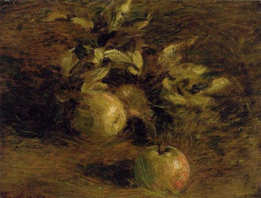 Henri Fantin-Latour. Apples