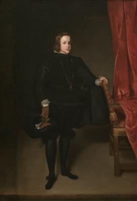 Juan Batista Martinez del Maso. Portrait of Prince Balthazar Carlos