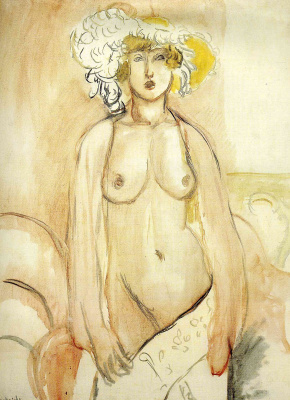 Henri Matisse. Nude in hat