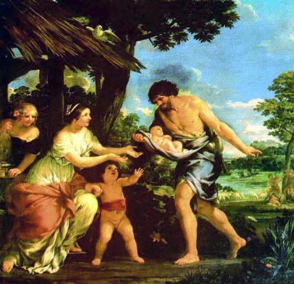 Pietro Da Cortona. Baby