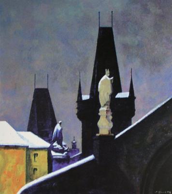Петр Павлович Оссовский. Прага