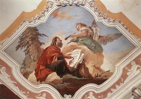 Giovanni Battista Tiepolo. The Prophet Isaiah