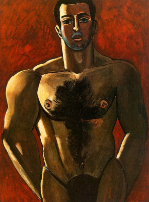 Marsden Hartley. Torso men