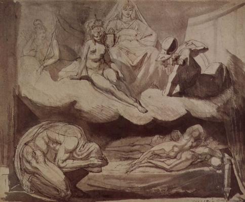 Johann Heinrich Fuessli. Daughter Pandaria