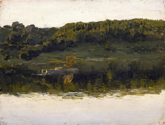Isaac Levitan. On The Volga