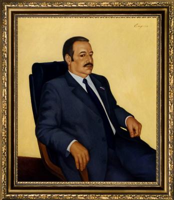 Nikolai Nikolayevich Sednin. Portrait Of Fazil Izmailov