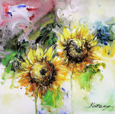 Savely Kamsky. Sunflowers N1