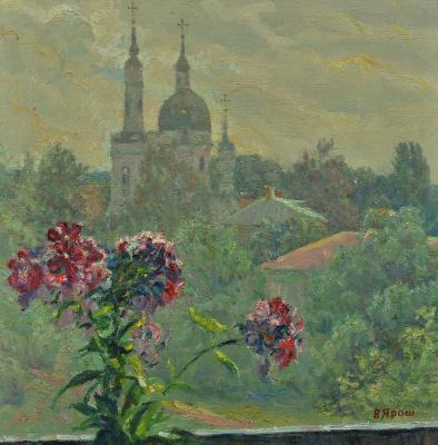 Валерий Иванович Ярош. View from the window