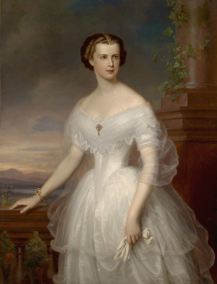 Franz Schrotzberg. Empress Elizabeth of Austria, Duchess of Bavaria