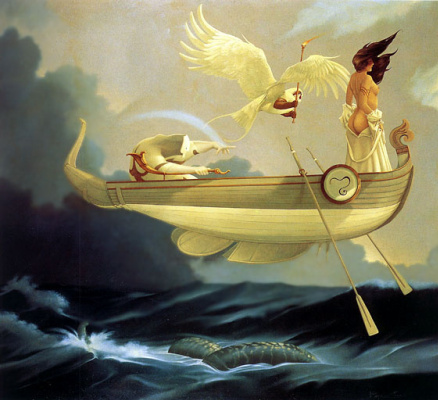 Michael Parkes. Flying boat