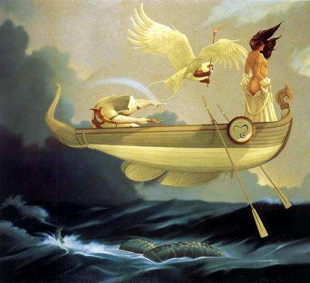 Michael Parkes. Flying boat