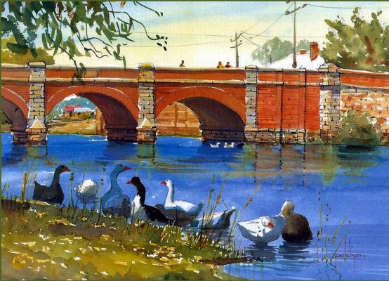 Боб Пелчен. Мост