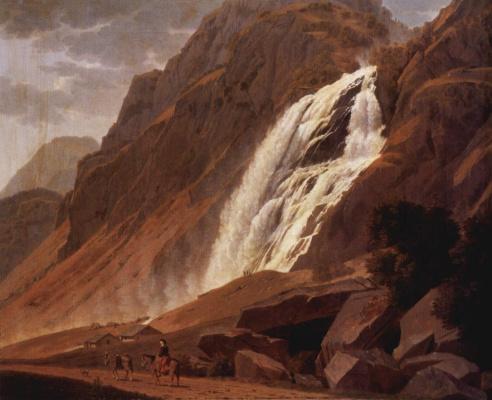 Иоханн Якоб Бидерманн. Водопад