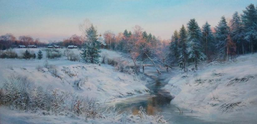 Sergey Vladimirovich Vorotilov. Freezing day