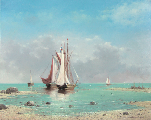 Vasily Ivanovich Gribennikov. Sea view