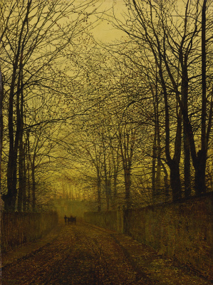 John Atkinson Grimshaw. October Gold