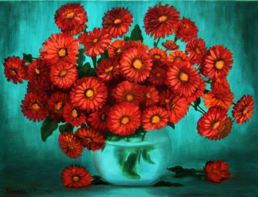Natalia Viktorovna Tyuneva. Autumn bouquet