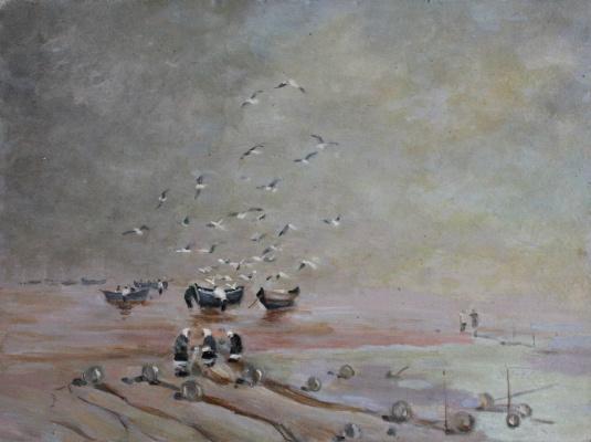 Victor Andreevich Chepurko. Fishermen