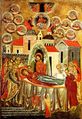 Icon Painting. The assumption
