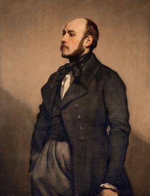 Thomas Couture. Portrait