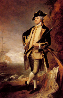Thomas Gainsborough. Commander Augustus Hervey, later Vice-Admiral, and 3rd Earl of Bristol