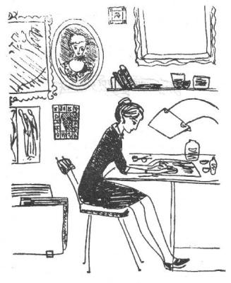 Nadezhda Nikolaevna Rusheva. Plot 6